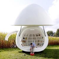 A lenyűgöző tojás ház