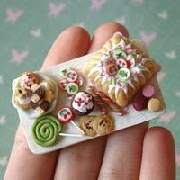 Étel művészet - Miniatűr finomságok