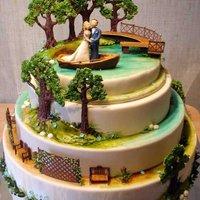 Elképesztő esküvői torták