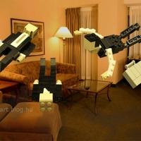 LEGO művészet - Eredet