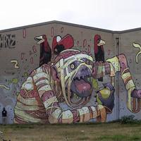 Mesés utcai falfestmények