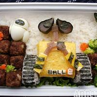 Étel művészet - WALL-E sushi