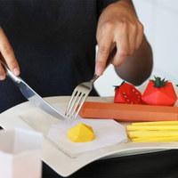 Ízletes Sims reggeli papírból