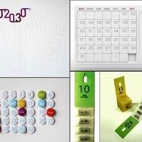 Kreatív naptár dizájn