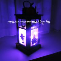 Halloween lámpás