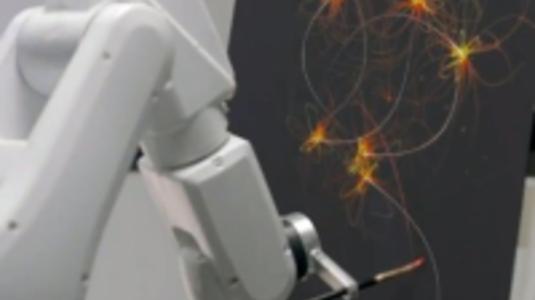 Álomfestő robot