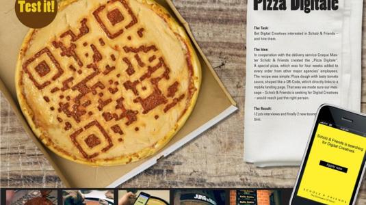Itt a digitális pizza