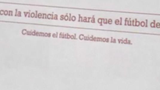 Ha nincs rend, nincs futball...