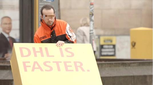 Zseniális trollkodás a DHL-től!