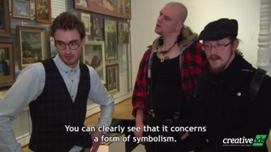 3000 forintos IKEA képet szakértettek egy múzeum látogatói