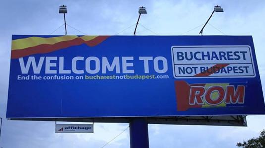 Bukarest nem Budapest!