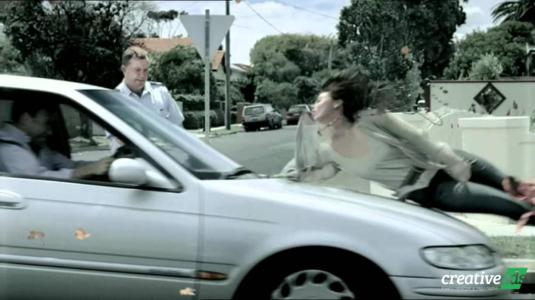 Brutálisan őszinte baleset-megelőző kampány Ausztráliából