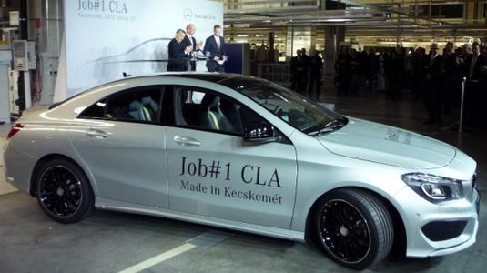 Mercedes CLA jótékonysági kampány