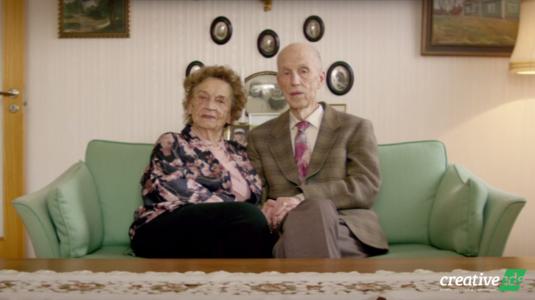 Idős párok nosztalgikus történetei az IKEA Valentin-napi kampányában
