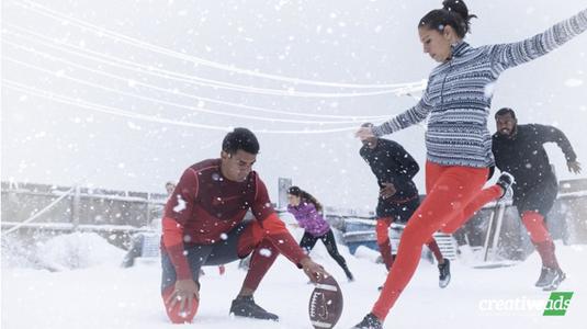 Megérkezett a Nike téli reklámfilmje!