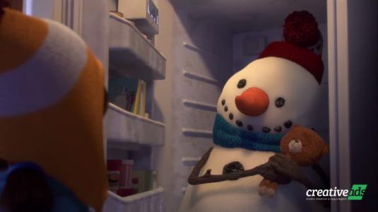 Szívmelengető reklám egy kislány és egy hóember különleges barátságáról