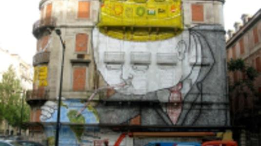 Lisszabon a graffiti fellegvára