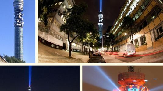 Óriás fénykard Londonban