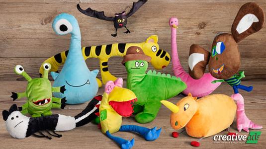 Cuki gyerekrajzokból készített plüssjátékokat az IKEA