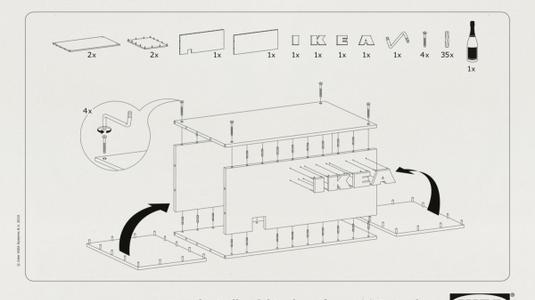IKEA nyitási útmutató