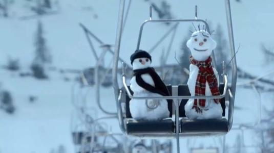 Olvadó hóembereket ment egy svájci biztosítótársaság