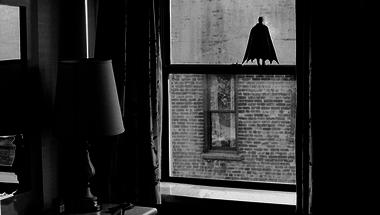 Mini Batman mindenhol ott van