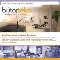 BútorTéka: konyha - iroda - design