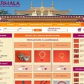 Karmala webáruház áttervezése, logo, szórólap
