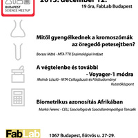 Budapest Science Meetup - 2013. december