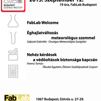 Budapest Science Meetup - 2013. szeptember