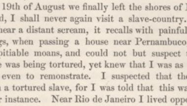 Darwin, az abolicionista