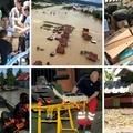 Az árvizet kihasználó dögkeselyűk