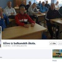 Iskolai huligánok a Facebookon állították vissza Jugoszláviát