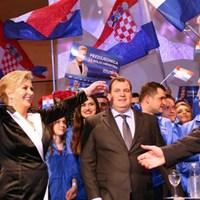 Horvátországban majdnem a külhoni szavazatokkal nyert a jobboldali jelölt