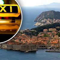 Vak turistát csapott be egy dubrovniki taxis