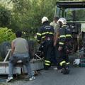 Traktor ütközött rotációs kapával - egy halott