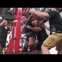 Rhino B*tch slaps Johnnie Jackson and Ben White - 2,221 lb Raw Total
