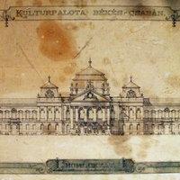 Alpár Ignác Kultúrpalota-terve