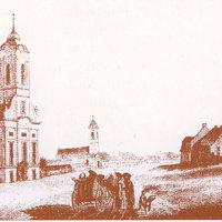 Az evangélikus Kistemplom átépítésének tervei 1895-ből