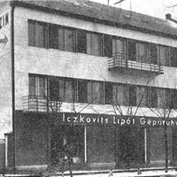 Iczkovits Gépáruház – Hadkiegészítő parancsnokság