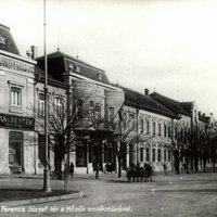 Róna Gusztáv lakó- és üzletháza a Szabadság téren