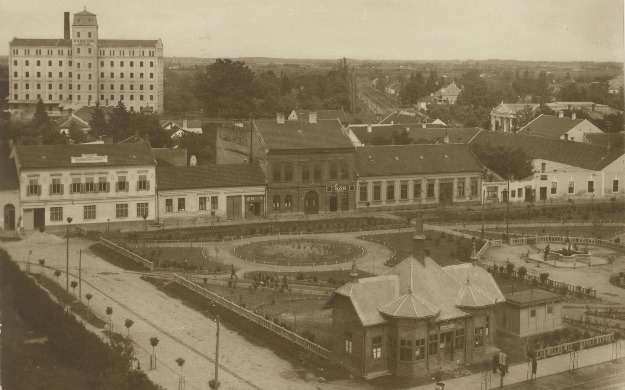 A békéscsabai Kossuth tér