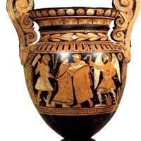 Magyar nyelvű mondat egy Kr.e. IV. században készült vázán