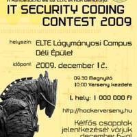 Biztonsági programozóverseny az ELTE-n