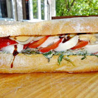 Vegetáriánus kemencés szendvics a Don Pepétől!