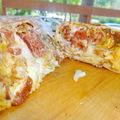 Extrém hot dog tortilla tekercs köntösben a Don Pepénél