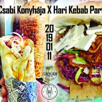 Csabi Konyhája X Hari Kebab Party