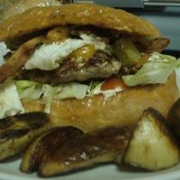 Házi hamburger a javából!