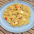 Kínai csirkés pirított tészta