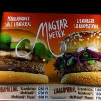 Burger Mustra #64 - Magyar Hetek - Libaburgerek a McDonald's-ban
